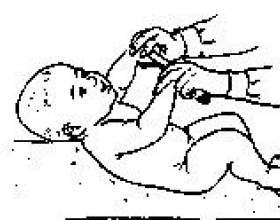 Гімнастичні вправи від народження до 6 місяців фото