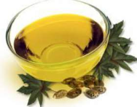 Касторова і реп`яхову олію для догляду за волоссям і віями фото